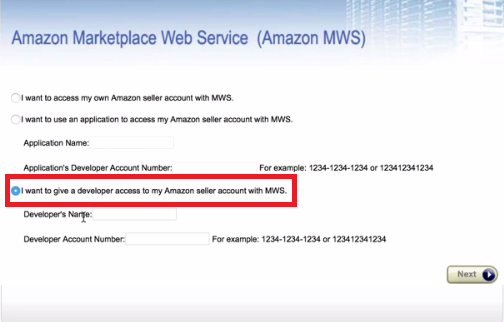 Give a Developer Access to Your Amazon Seller Account